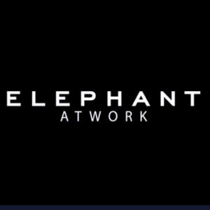 Elephant At Work